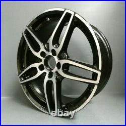 1 Genuine Mercedes Cla & A Class W176 Amg-line 18 Alloy Wheel Rim Black Diamond