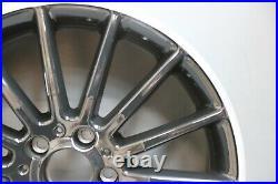 1 Genuine Oem Mercedes A Class W176 18 Amg Alloy Wheel Rim Black Diamond Cut