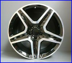 1 Genuine Oem Mercedes ML Gl W166 20 Amg Alloy Wheel Rim Black Diamond Cut