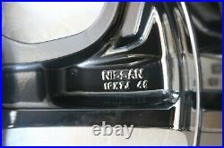 1 Genuine Oem Nissan Qashqai 19 Alloy Wheel Rim Black Diamond Cut Ac4ch-t6