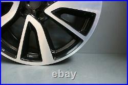1 Genuine Original Oem Nissan Qashqai 19 Tekna Alloy Wheel Rim Black Diamond Cu