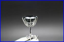 17.03cts 16.10mm Real Natural Black Diamond Ring AAA Grade & $8715 Value