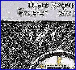 2012-13 Upper Deck Ud Black Diamond Bobby Orr Sapphire Autograph Real 1/1 Auto