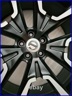 22 Genuine Volvo Xc60 9j Black Diamond Cut Alloy Wheel 31454328 Et43 Single X1