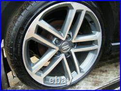 Audi A3 S3 8V 18 S LINE BLACK EDITION GENUINE DIAMOND CUT Alloy Wheels WOW