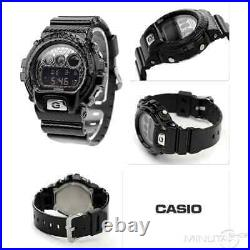 Brand New Casio G-shock Dw-6900ds-1 Crosshatch Black Diamond Limited Genuine