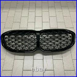 Brand New Genuine BMW F40 Diamond Pattern Shadowline Kidney Grilles 51138080490