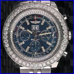 Breitling For Bentley 6.75 A4436412 Luxury Men's Watch Diamonds Bezel Genuine
