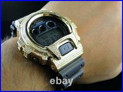 Casio Mens G Shock 6900 Jojino Aqua Master Genuine White Diamond Watch 3.0 Ct