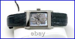 Eterna Women's 1935 Diamond Genuine Lizard Watch DARK GREY 11879041541158Fra NEW