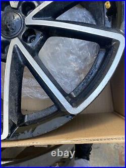 GENUINE AUDI 19 BLACK DIAMOND CUT Audi RS3 ALLOY WHEEL 8V0601025AT BREAKING