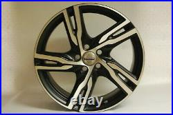 Genuine 18 Volvo Alloy Wheel Satin Black Diamond Cut 31423873