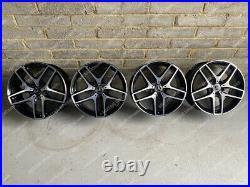 Genuine 19 Mercedes GLC GLA GLB E V Class Vito AMG Black Diamond Cut Wheels
