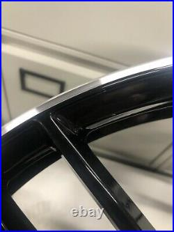 Genuine 2019 Audi TTRS Alloy Wheel 9x20 Et52 8S0601025AR Black/diamond Cut Lio