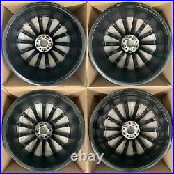 Genuine Amg Mercedes E Class W213 Alloy Wheel Set Diamond/black 20 8.0j 9.0j