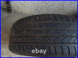 Genuine BMW 18 397 Black Diamond Cut Alloy Wheels x 2 225/45/18 Run Flat Tyres