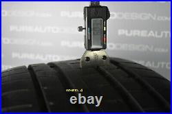 Genuine BMW 5 Series 20 Alloy Wheels G30 G31 Gloss Black Diamond Cut With Tyres