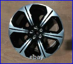 Genuine Jaguar XF RS Alloy Wheel 20 Varuna Black & Diamond Cut 10.5x20 Off 62