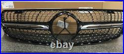 Genuine Mercedes Benz GLC 253 Models Front Black Diamond Front Grille
