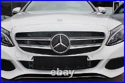 Genuine Mercedes-Benz W205 C-Class C43 Diamond Radiator Grille Retrofit Kit NEW
