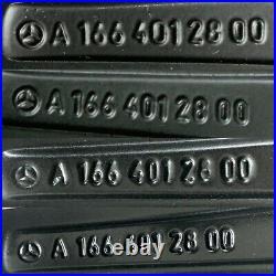 Genuine Mercedes Gle Gls 63 Amg 21 10j Alloy Wheel Set Black/diamond Cut A166
