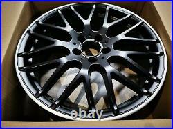 Genuine Mercedes-benz A45amg 176 Chassis 19 Satin Black & Diamond Cut Lip Amg