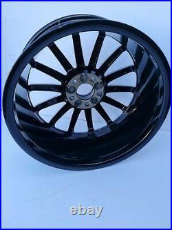 Genuine Oem Mercedes A Class W176 18 Amg Alloy Wheel Rim Black Diamond Cut
