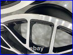 Genuine Porsche 911 991 Turbo S Gts Centre Lock Wheels Diamond Cut Black