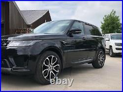 Genuine Range Rover Sport L494 21 Inch 5007 Black/diamond Cut Alloy Wheel X1