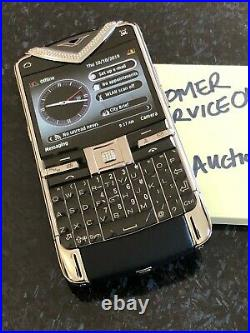 Genuine Vertu Constellation Quest Diamonds Black, A super RARE Collector phone