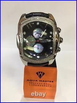 Invicta Aqua Master Jojo Lupah St Steel man Watch 1.50ct real diamonds