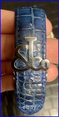 JACOB & Co. Five Time Zone Genuine Diamond Bezel 47mm Quartz 100m