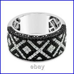 Le Vian Red Carpet Ring Black Diamonds, Vanilla Diamonds 14K Vanilla Gold