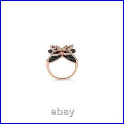 Le Vian Ring featuring Black Diamonds, Vanilla Diamonds 14K Strawberry Gold