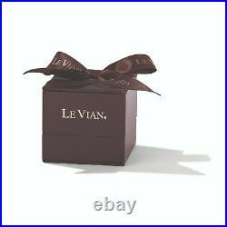 LeVian Exotics Ring Tanzanite Black Diamonds Vanilla Diamonds 14K Honey Gold