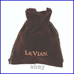 LeVian Ring Sapphire Black Diamond Nude Diamond Chocolate Diamond 14K Honey Gold