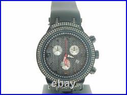 Mens Joe Rodeo JoJo Master Edition 242 Real Diamond Watch 2.20 Ct. Black JJM90