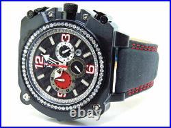 Mens Techno Com KC XL Case WEG 44 MM Real VS Diamond Watch 2.0 Ct