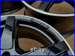 R316BGD Swap MERCEDES CLS 4X 19 GENUINE AMG BLACK DIAMOND CUT ALLOY WHEELS
