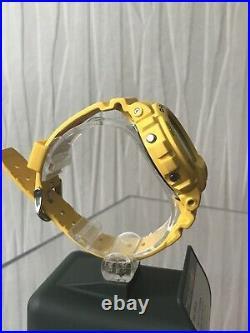 Rare CASIO G-SHOCK G-6900A GW-6900a Yellow SOLAR LIMITED 100% GENUINE Dw6900