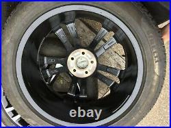 SET OF 4 Genuine 19 Volvo V90 Alloy Wheel Gloss Black / Diamond Cut 31381536