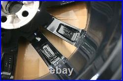 Set 4 Genuine Original Oem Jaguar E-pace 20 Venom Black Diamond Alloy Wheel Rim