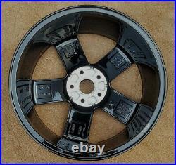VW GOLF R mk7 18 GENUINE CADIZ BLACK DIAMOND CUT REFURBED ALLOY WHEEL S564DCB