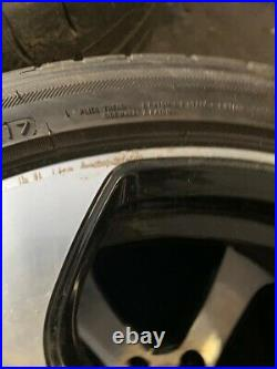 Volkswagen Golf Gti Alloy Wheels 18 Genuine Vw Mk7 Gti Austin Diamond Cut Black