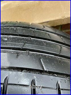 Volvo XC40 21 Wheels & Tyres 5 Triple Open Spoke Diamond Cut 7 Black Genuine